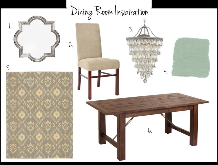 Pottery Barn Dining Room Ideas