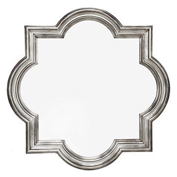 Z Gallerie Quatrefoil Mirror,